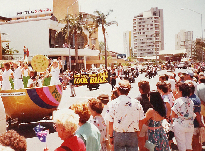 Carnival in Surffers paradise, Queensland.