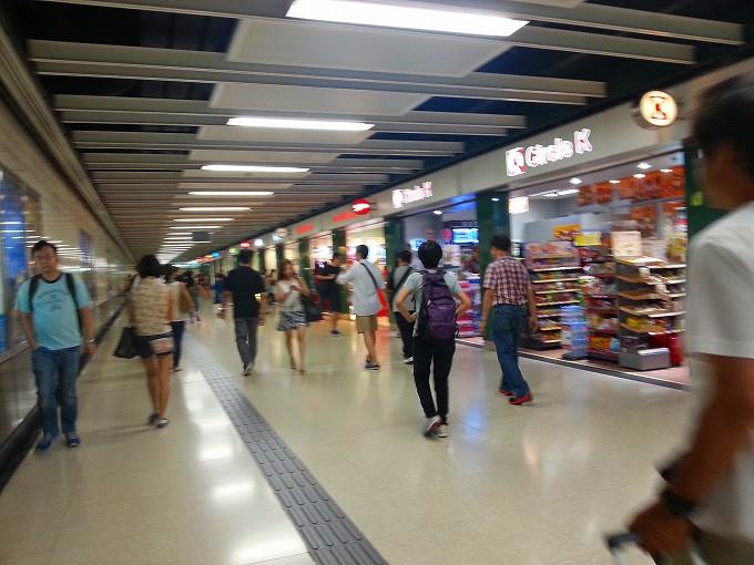 東莞→九龍3(Dongguan → Kowloon.)