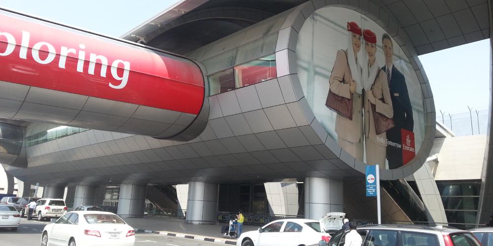 Dubai airport.