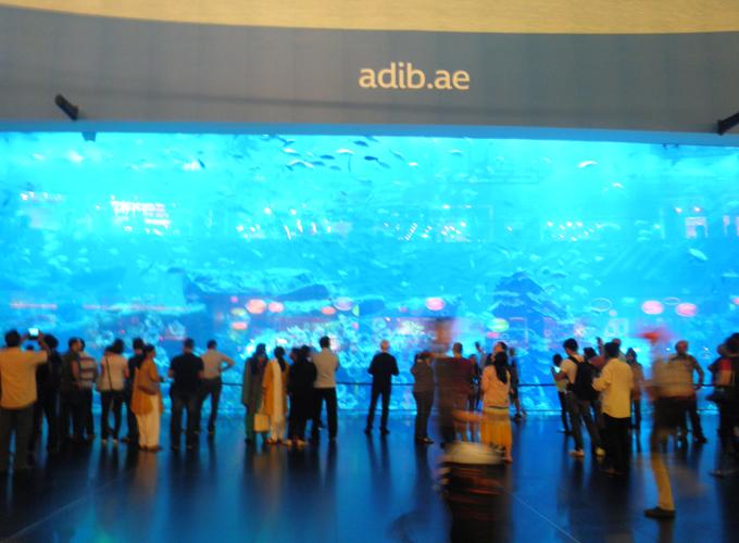 世界一のアクアリウム(Largest aquarium in the world.)