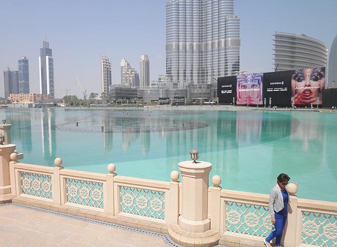 ザ・ドバイ・ファウンテン(The Dubai Fountain.)