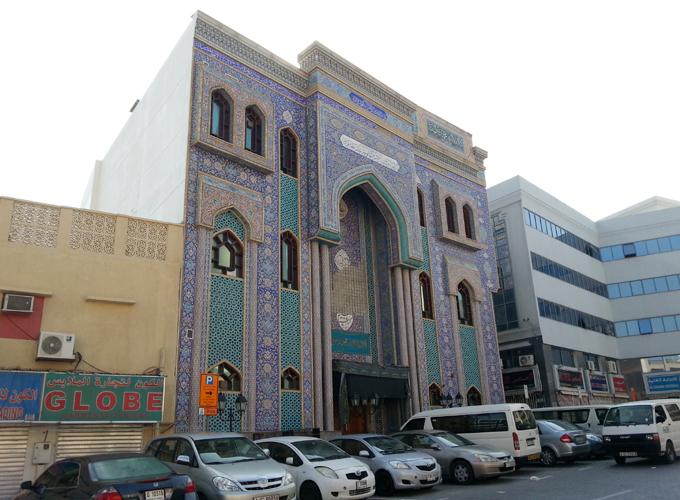 モスク発見