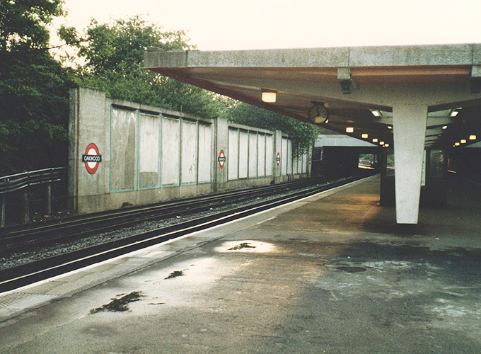 wood green station.