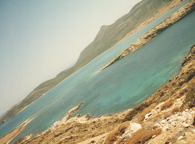 Paros island.