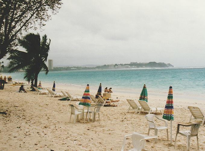 Beach in Guam.