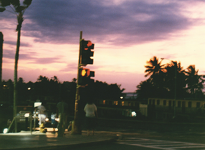 Tumon city view.