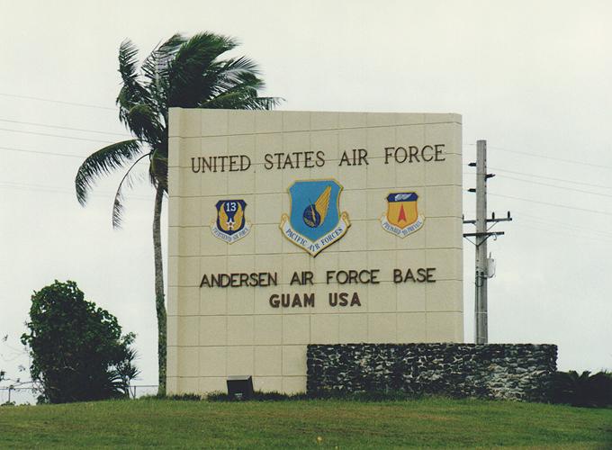 Drive in Guam.
