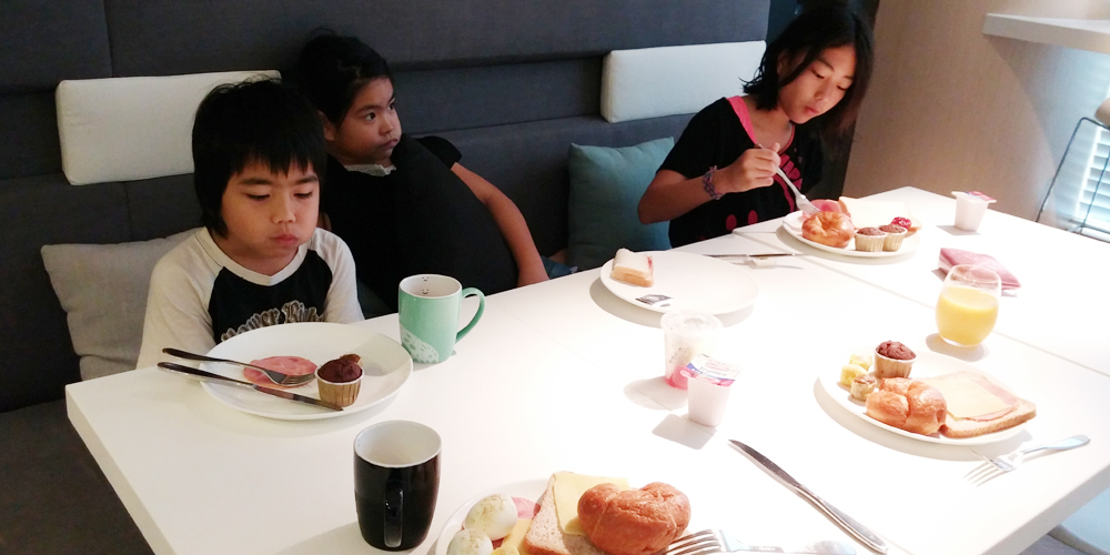 オヴォロの朝(One morning in Ovolo.)