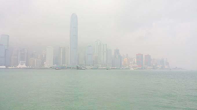 香港島サイド・スターフェリーに乗船(天星小輪・Star Ferry.)