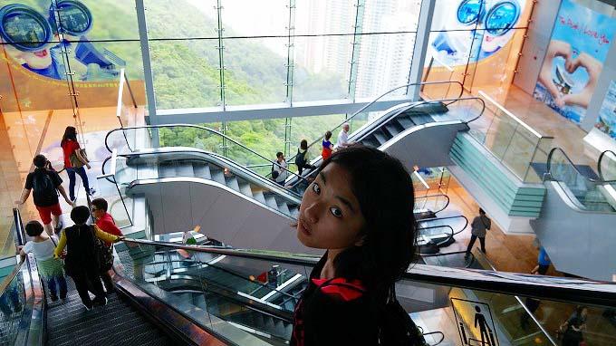 ピーク・タワー(山頂凌霄閣) - 香港ピーク(The Peak tower.)