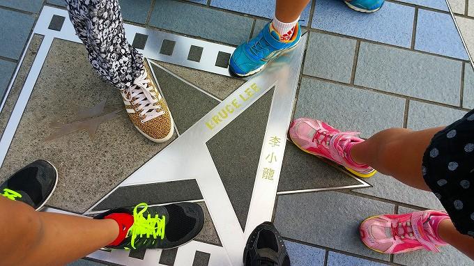 Bruce Lee(李小龍)星光大道 Part1(Avenue of Stars.)
