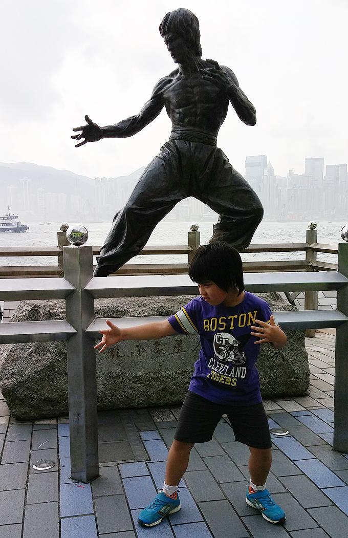 Bruce Lee(李小龍)像星光大道 Part2(Avenue of Stars.)