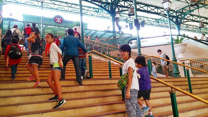 香港ディズニーランドへ(The way to HKDL.)