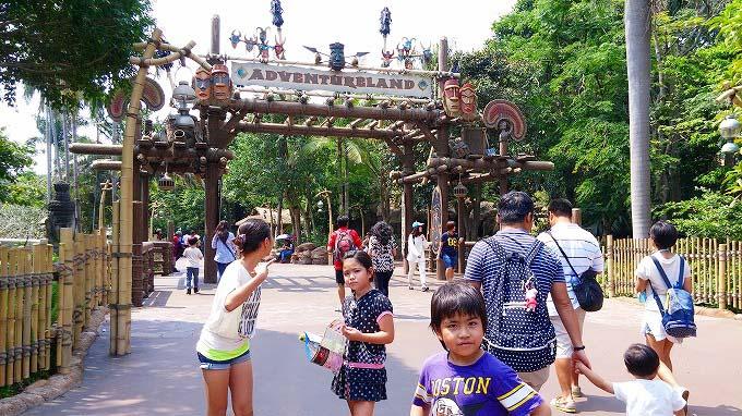 アドベンチャー・ランドへ。香港迪士尼樂園 Part2(Hong Kong Disneyland.)