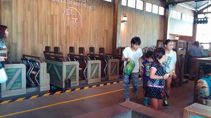 ビッグ・グリズリー・マウンテン・ラナウェイ・マイン・カー。香港迪士尼樂園 Part3(Hong Kong Disneyland.)