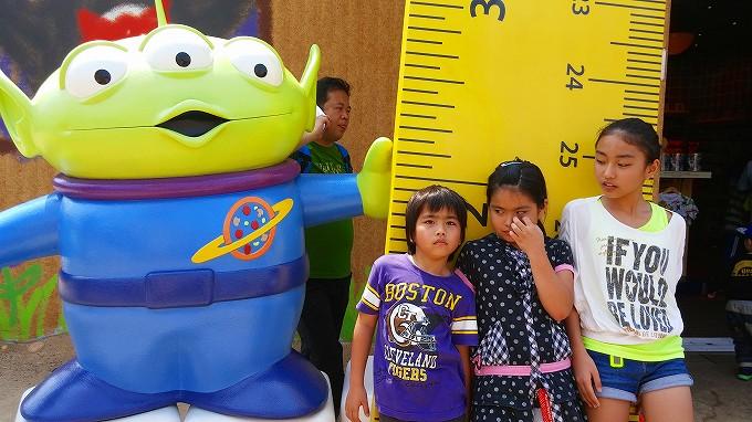トイストーリーに登場する「リトルグリーンメン」香港迪士尼樂園 Part4(Hong Kong Disneyland.)