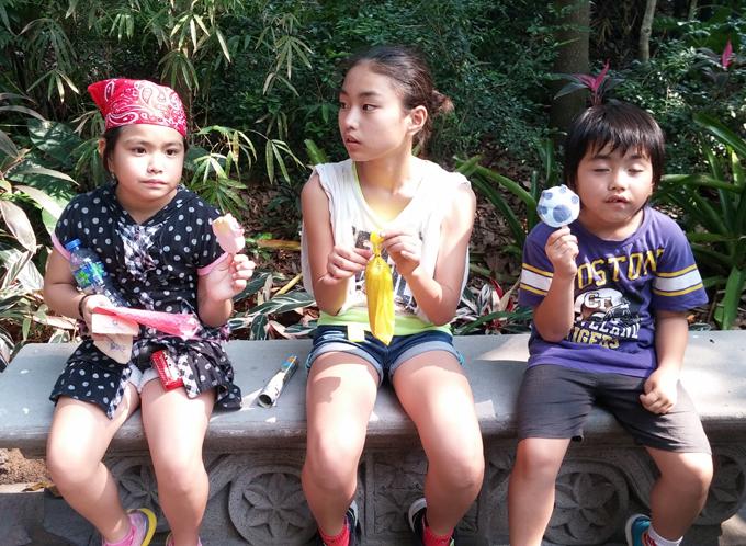 アイスクリームもキャラクター物です。香港迪士尼樂園 Part4(Hong Kong Disneyland.)