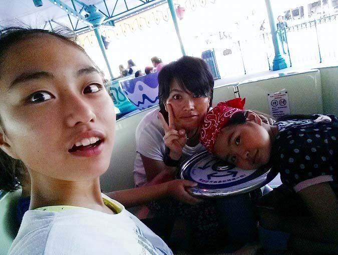 マッド・ハッターのティーカップ。香港迪士尼樂園 Part5(Hong Kong Disneyland.)