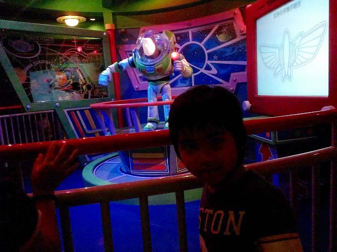 バズ・ライトイヤー・アストロブラスター 香港迪士尼樂園 Part5(Hong Kong Disneyland.)