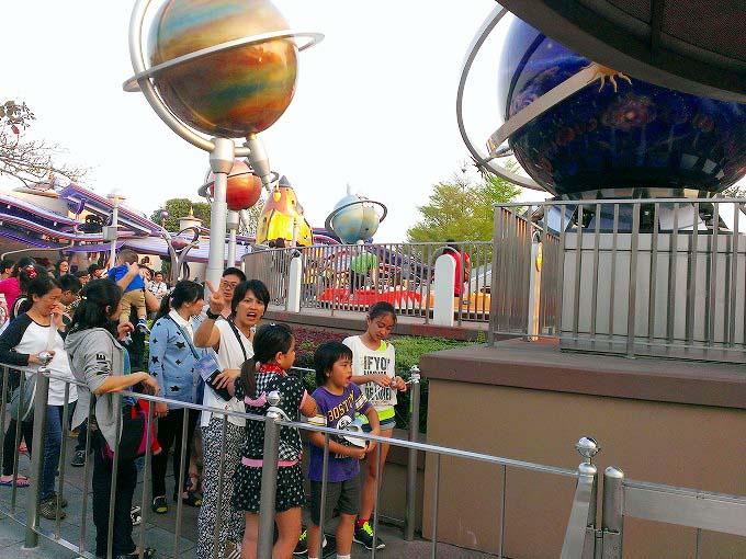 オービトロン 香港迪士尼樂園 Part5(Hong Kong Disneyland.)