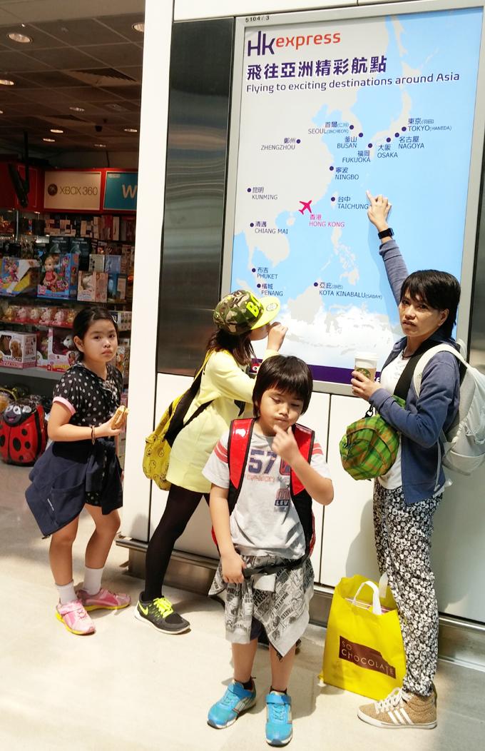 地図・香港→沖縄2(Return to Okinawa.)