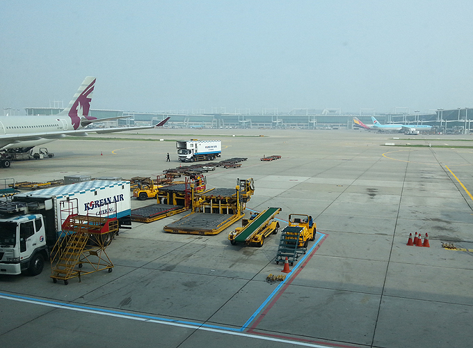 Inchon Airport.