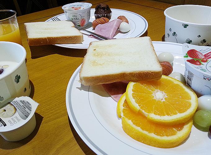 ホテル ノーステル(Hotel Northtel)朝食