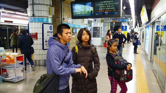 シティホール乗り換え - インノ・ホステルへ(Way to Inno Hostel.)