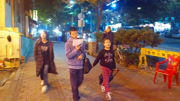 徒歩でホステルへ - インノ・ホステルへ(Way to Inno Hostel.)