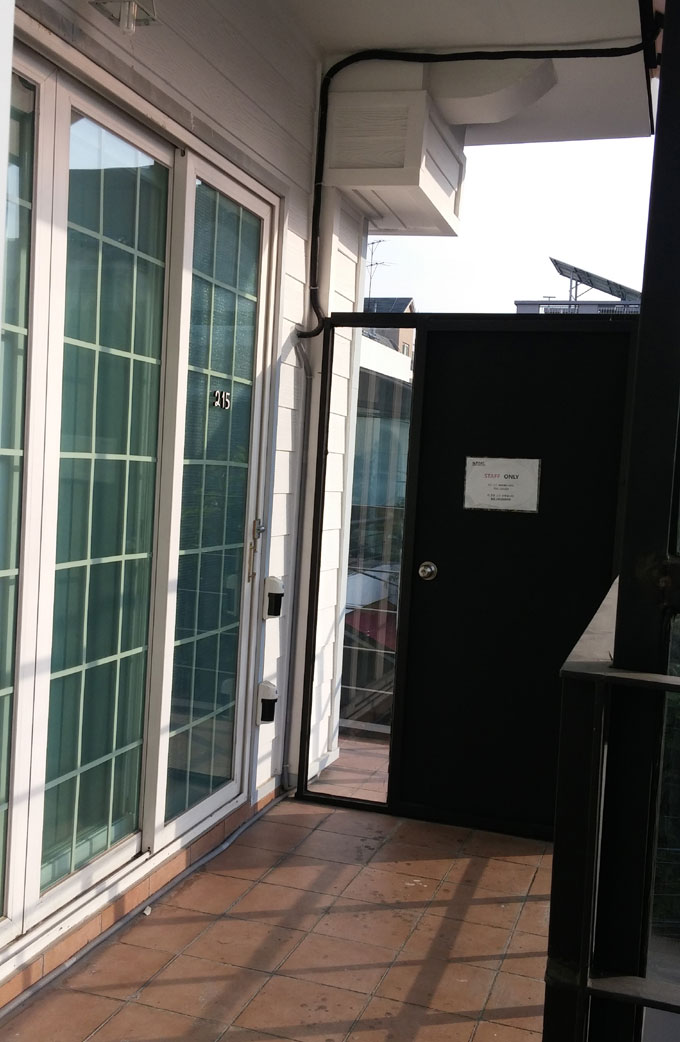 ベランダ - Inno Hostel & Pub Lounge Hongdaeの朝