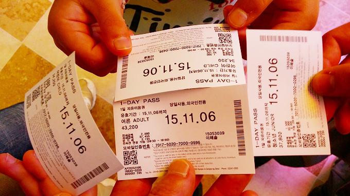 チケット - ロッテワールド(Lotte World.)