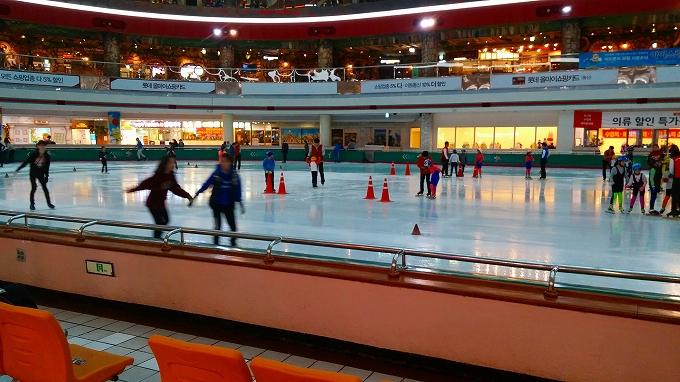 フィギュアスケート - アイススケートリンク(Lotte World.)