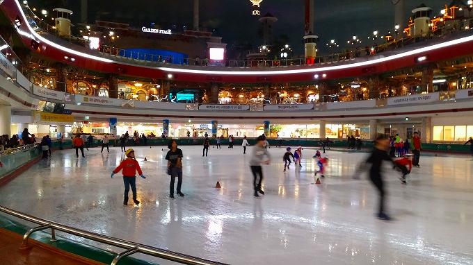 アイススケートリンク(Lotte World.)