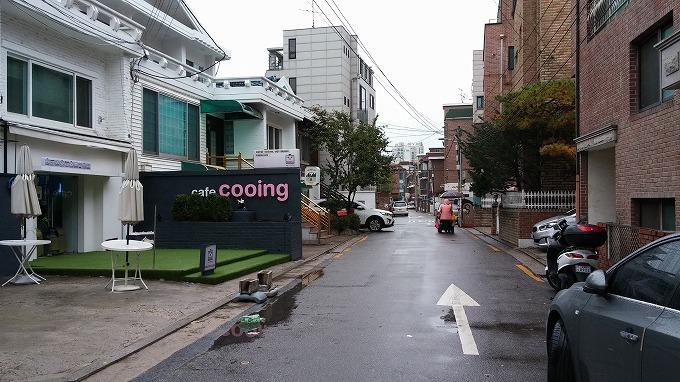 可愛いカフェ - 明洞へ(The way to Myeong-dong.)