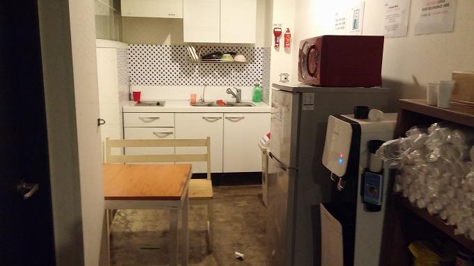 2階のシェアキッチン - Inno Hostel & Pub Lounge Hongdaeの朝