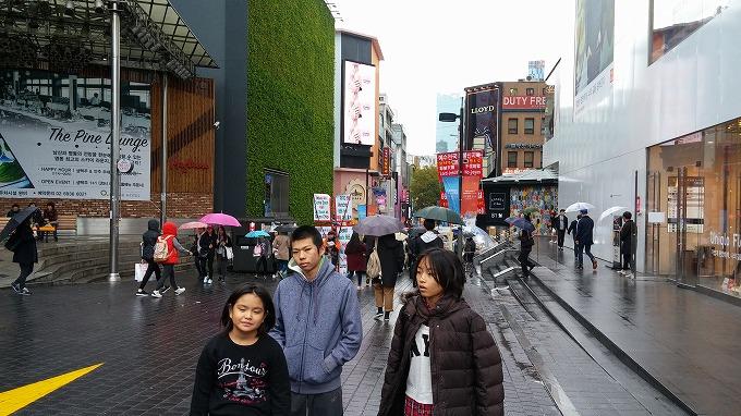 ミリオレ前。 - 明洞中区(チュング)散策(Walk in Myeong-dong.)