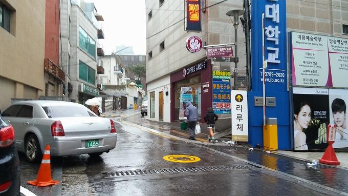 パシフィックホテルの通り - 明洞散策(Walk in Myeong-dong.)
