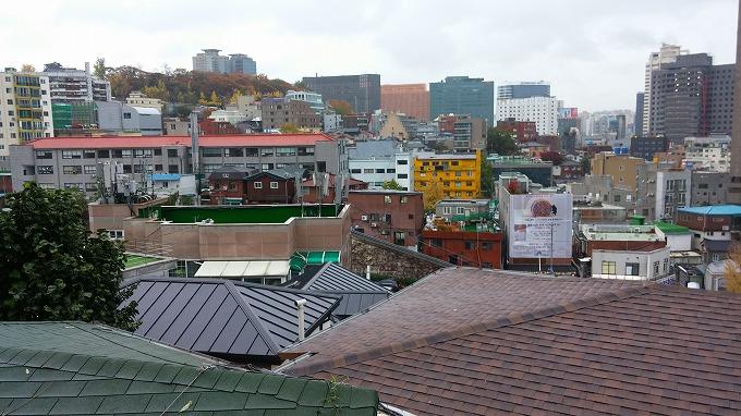 南山からソウル駅方面の景色。 - 明洞散策(Walk in Myeong-dong.)