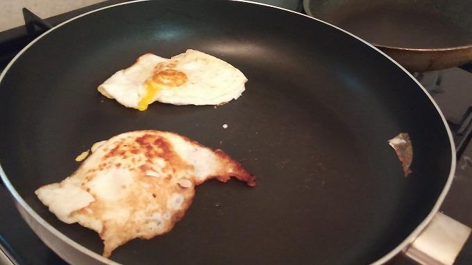 目玉焼き - i house朝食
