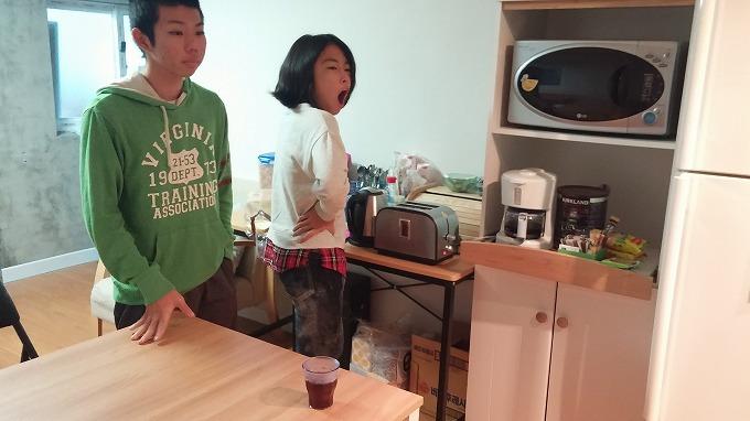 中2階のキッチン - i house朝食
