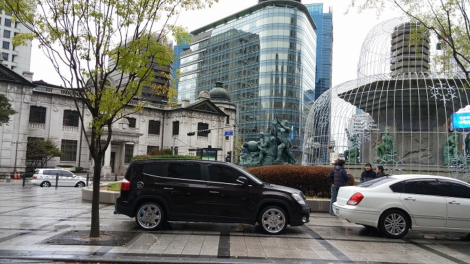 国立中央博物館へ(To National Hangeul Museum.)