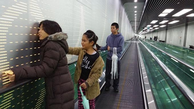 国立中央博物館への長い通路 - 国立中央博物館へ(To National Hangeul Museum.)