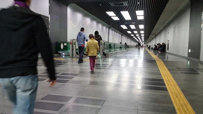博物館の長い通路 - 国立中央博物館(National Hangeul Museum.)