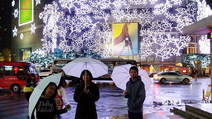 クリスマス・イルミネーション - 明洞の夜(Night in Myeong-dong.)