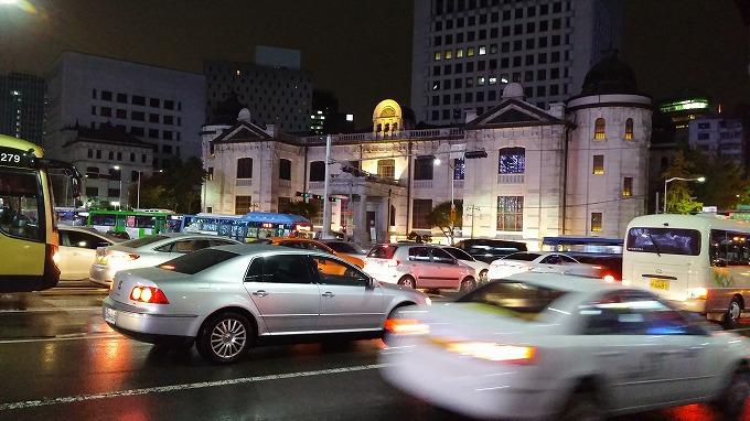 韓国銀行紙幣金融博物館 - 明洞の夜(Night in Myeong-dong.)