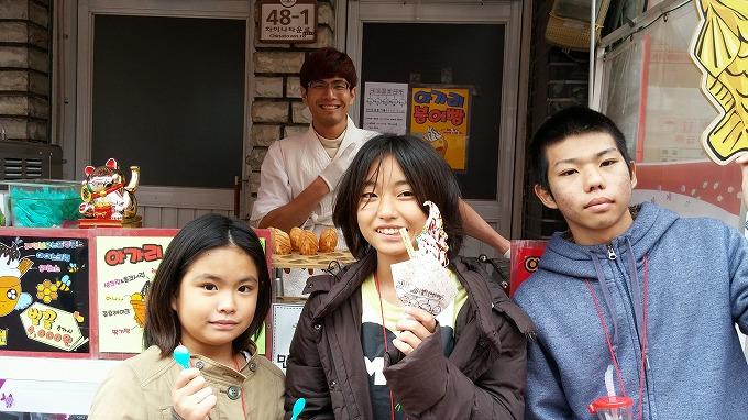 仁川中華街・買食