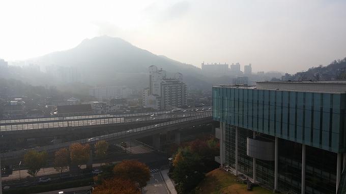 ソウルの街の景色 - グランド ヒルトン ソウル(Grand Hilton Seoul)