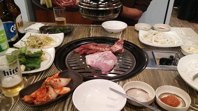 韓国焼肉(コギグイ)・料理