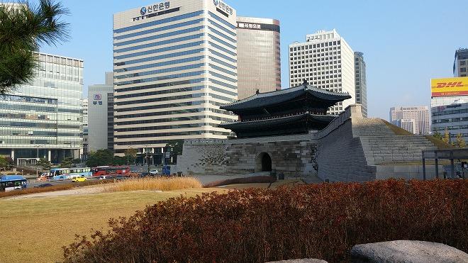 ソウル中区(チュング)北倉洞の朝