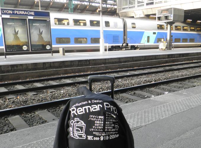 リヨン・ペラーシュ駅(Gare de Lyon Perrache)構内